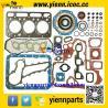 China Kubota D1463LN D1463NND1463 engine parts overhual rebuild kit piston+ piston ring+full gasket set with head gasket wholesale