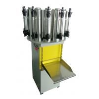12 cans manual paint colorant dispenser with stainless steel cans