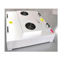 China GMP Workshop Large Air Volume HEPA Filter Unit Powered EBM Fan wholesale