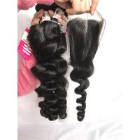 Buy cheap 12 Inch 100% Brazilian Virgin Hair Unprocessed Cuticle Aligned Raw Loose Wave from wholesalers