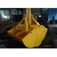 Buy cheap One Cylinder Clamshell Excavator Grab Bucket Komatsu Telescopic Boom Grapple from wholesalers