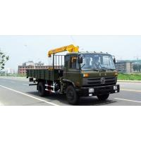 Quality 5T 160HP 4x2 DONGFENG EQ1120GLJ Truck Crane for sale