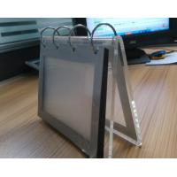 China Acrylic Desktop calendar stand / Clear Desktop Picture Holder wholesale