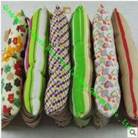 China Custom Dining Chair Cushions With Ties , Elegant Office Chair Seat Cushions wholesale