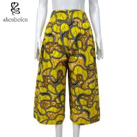 China 100 Percent Cotton African Print Pants Clothing Relaxed Wax Printed Anti Static wholesale