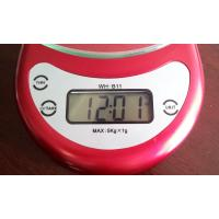 Quality Cooking Measuring Home Electronic Scale Selectable Color With Over Load Indication for sale