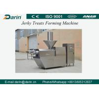 China Automatic Pet Snack Jerky Treat Forming Machine / Pet Food Processing Line with CE Certification wholesale