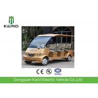 Buy cheap Free Maintenance Battery 72V Motor 8 Seater Electric Sightseeing Bus For Public Transportation from wholesalers