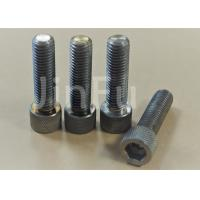 China Low Density Titanium Socket Cap Screws Polishing Surface Treatment wholesale