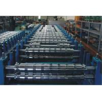 China 0 - 15m/min PLC Double Layer Roll Forming Machine For Two Roofing Profiles wholesale