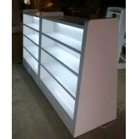 China Steel Or Wood Department Store Gondola Display Stands Supermarket Equipment wholesale