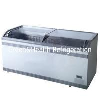 China Combined Meat Island Display Freezer With Tempered Glass For Supermarket wholesale