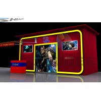 China 5D Theater System with Motion chair, special effect system , 5D theater system with booth wholesale