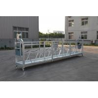 China 100m ~ 250m Working Height  220V / 60HZ / 3 Phase ZLP630 Aluminum Suspended Platform For High Building Painting wholesale