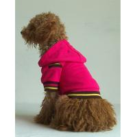 China red color dog clothes hoodies pet products wholesale