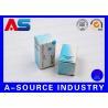 China Acheter Steroid Vial Storage Box Matt Finish Anti - Fake Blue White Printing wholesale