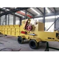 China wood chipping machine/wood chipper shredder for sale, China made diesel mobile chipper wholesale