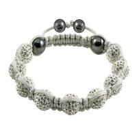 China Shamballa Crystal Ball Bangle Bracelets  wholesale