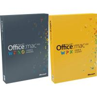 China Full Version Office 2011 Mac Home And Business 32 / 64 Bits English Language wholesale