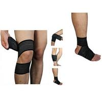 China High elasticity Calf Thigh Support Knee Compression Wrap Bandage. Elastic material.Customized size. wholesale