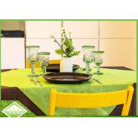 Buy cheap Disposable PP Spunbonded Non Woven Table Covers TNT Recycle bio-degradable from wholesalers