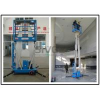China Dual Mast Vertical Mast Lift 8 Meter Platform Height For Business Decoration wholesale