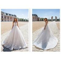 China New Style Strapless Women Elegant Bridal Gowns Ivory Ball Gown Custom Made Wedding Dress wholesale