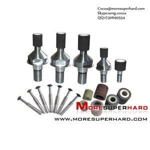 Vitrified bond CBN/Borazon internal grinding wheel for Compressor Stator