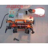 China Automatic Auto Corner Key Cutting Saw Machine With External Cutter DC 12V 180W wholesale
