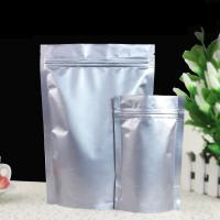 China Waterproof Stand Up Foil Pouch Packaging Pure Aluminum Foil Bag For Coffee / Tea on sale