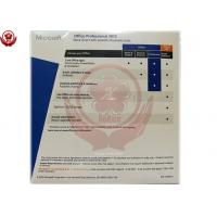 China Microsoft Office Product Key Card , Office 2013 Professional Fpp wholesale