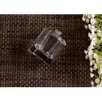 China 60ml Capacity Clear Glass Perfume Bottles with Sprayer , Hexagonal Shape wholesale