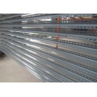 Quality Light duty slotted angle shelving for storage warehouse for sale