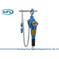 China 0.75 Ton Manual Chain Hoist HSH Ratchet Lever With Forged Safety Latch wholesale