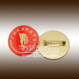 China China factory metal badge / cheap pin badge / custom button badge wholesale