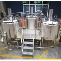Buy cheap Steam heating 10BBL Beer brewing Equipment Brewhouse Specs Available from wholesalers