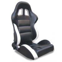 China Black and white Sport Racing Seats with harness / classic sports car seats wholesale