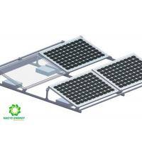 China Aluminum Custom Solar Panel Mounting Brackets Support and Fix PV Panels wholesale