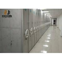 China 3-Point Key Lock 6 Layers Mobile Racking System Corrosion Protection on sale