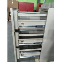 Quality UL Vertical Metal Fire Resistant Filing Cabinets Fireproof 4 Drawers For Storing for sale