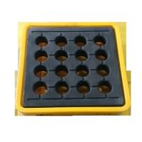 China IBC Chemical Spill Containment Trays , 4 IBC Tank Safety Storage Spill Deck And Spill Pallet wholesale