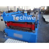 China Welded Wall Plate Forming Structure Roof Roll Forming Machine 0-15m / Min Forming Speed wholesale