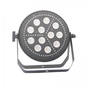 China 12*15W  RGBW 4in1  84pcs RGB 5050SMD LEDS Flat Par Light Die-Cast Aluminum Housing wholesale