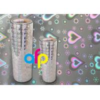 China 3 Inch Core Metalized Polyester Film , Various Color Thermal Lamination Films wholesale
