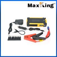 China 18000Mah 12V Emergency Car Battery Charger Jump Start Starter 5.0L with LCD Display wholesale