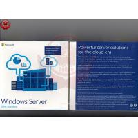 China 100% Original Ms Windows Server 2016 X64 - Bit Retail Version Online Activation wholesale