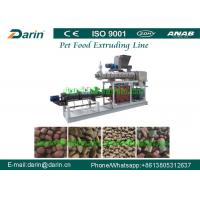 China Automatic Food Extruder Machine High - Tech 150kg/hour For Dry Pet Food wholesale