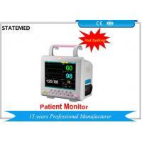 China Accurate Multi Parameter Patient Monitor , Portable Vital Signs Monitor For Ambulances wholesale