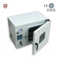 China 50L Small Vacuum Dry Oven Cabinet Stainless Steel Chamber For Thermo-Sensitive Material wholesale