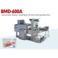 China Automatic Sleeve Sealing & Shrink Food Packaging Machine with Label Function wholesale